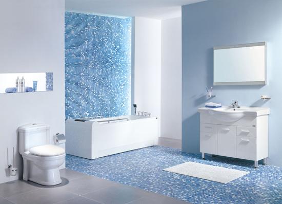 绿植不但可以装点居室,也可以改善浴室风水哦
